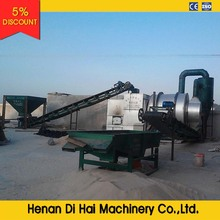 TDS625 three pass rotary dryer for sand/slag