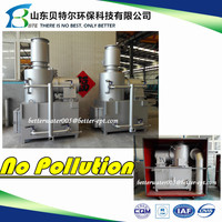 100-150kgs/hr. Medical Solid Waste Incinerator, Smokeless Clean Burner for Waste Treatment