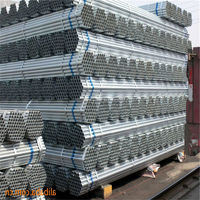 Pre-gal round steel hollow section/Metal building material