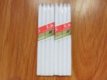 Wholesale white paraffin wax stick candles