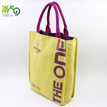Premium quality khaki Canvas hand bag for promotion