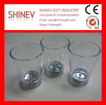 Custom Plastic Water Activated Led Shot Glass For Party and Events