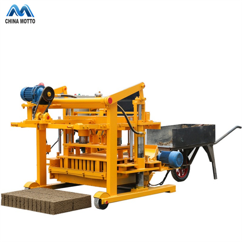 QT40-3A cheap price interlock wood brick making machine price in Pakistan