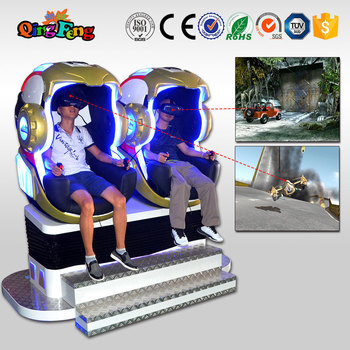Qingfeng Home Cinema low investment high profit business Virtual Reality 1/2/3 Seat 9d VR Egg