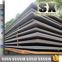 hot rolled carbon structural steel plate sheet material grade s355 s355jr s355j2 n s355jo