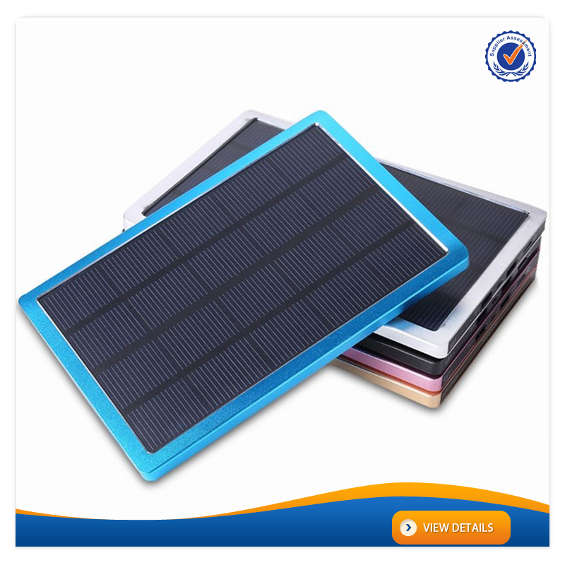 AWC608 New products 10mm brand power bank 10000mAh for mobile phone wholesale 12000mAh solar charger