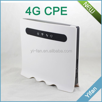 YF118 4g cpe indoor similar to Huawei LTE CPE B593s