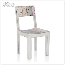 Custom shabby chic crate wooden dining table chair