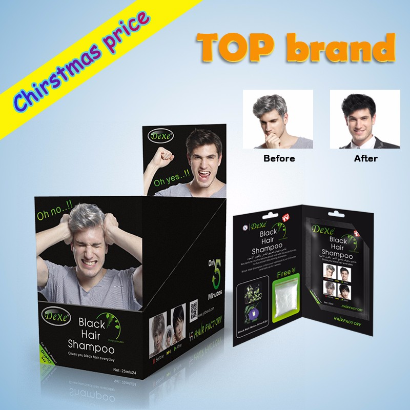 Buy Direct From China Factory Gray Hair Shampoo With 5 Mins Permanent Dye