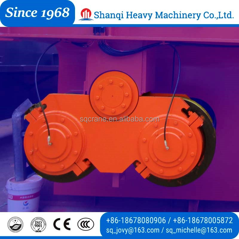 Better Reliable Bridge Crane Steel Bogie Wheel With Good Price