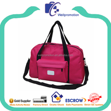 Latest promotional stylish active leisure travel bag for women