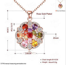 vogue jewerly wedding AAA Zircon Necklace designs