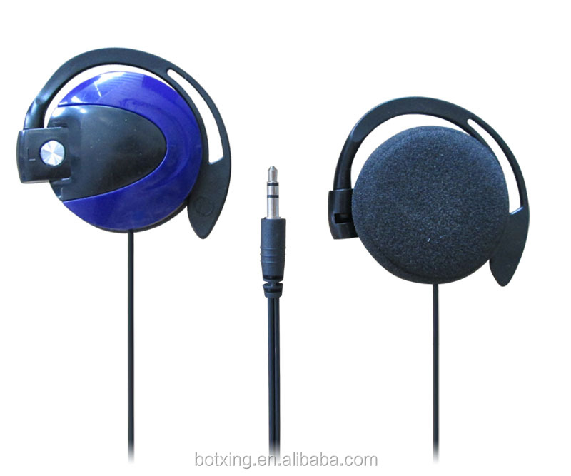 Hands free earhook headsets with CE&ROHS certification