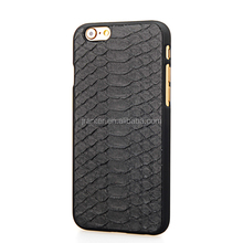 Wholesale Fashion Python for Iphone6 Case 2015 Genuine Leather