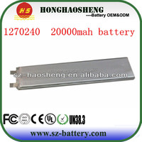 lithium ion rechargeable 20000mah rc lipo battery