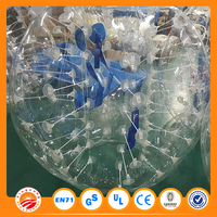 china supplier sports equipment bubble soccer ball for football