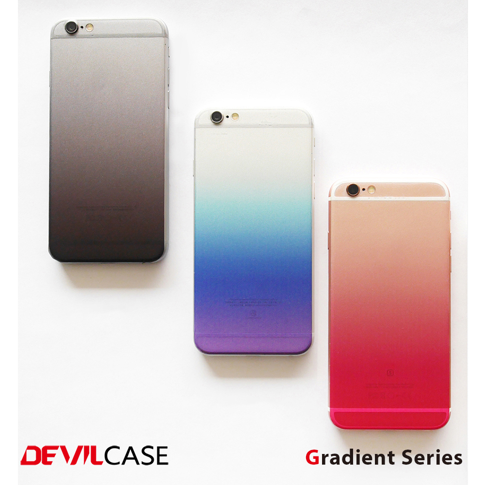 [DEVILCASE] Gradient Series--PVC Mobile Phone Skin Stickers for Apple/Android Phone with cell phone skin design