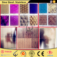 stainless steel color sheet elevator decoration