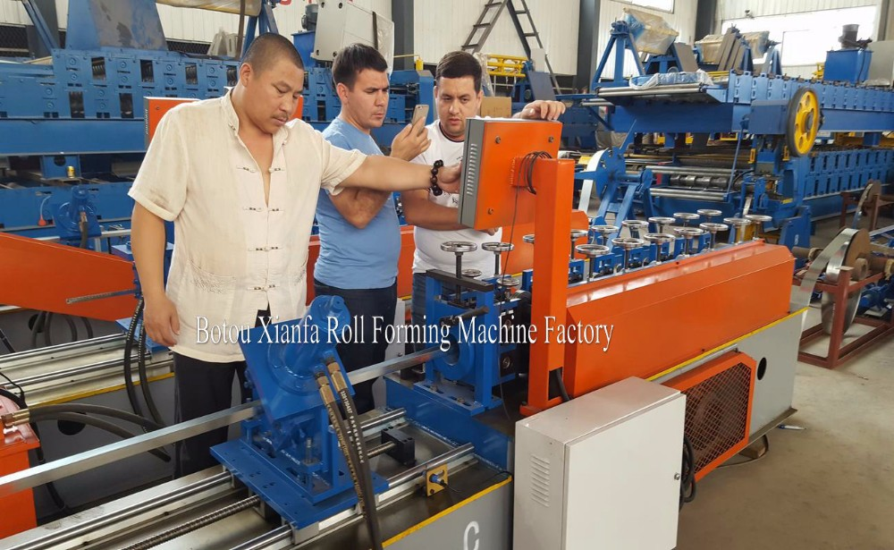 New Type Profile Colored Steel Zinc Steel Plate Keel Roll Forming Machine