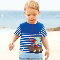 PHB12066 cartoon summer boys fashion new design stylish shirts
