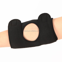 neoprene elbow support Magnetic tourmaline heated elbow pad Compression tennis elbow brace sleeve