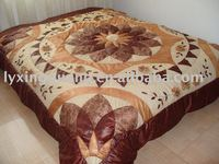 dyed yarn pu fabric quality patchwork quilt