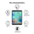 New model 9H hardness 10.5 inch screen protector tempered glass for ipad pro 10.5 tempered glass