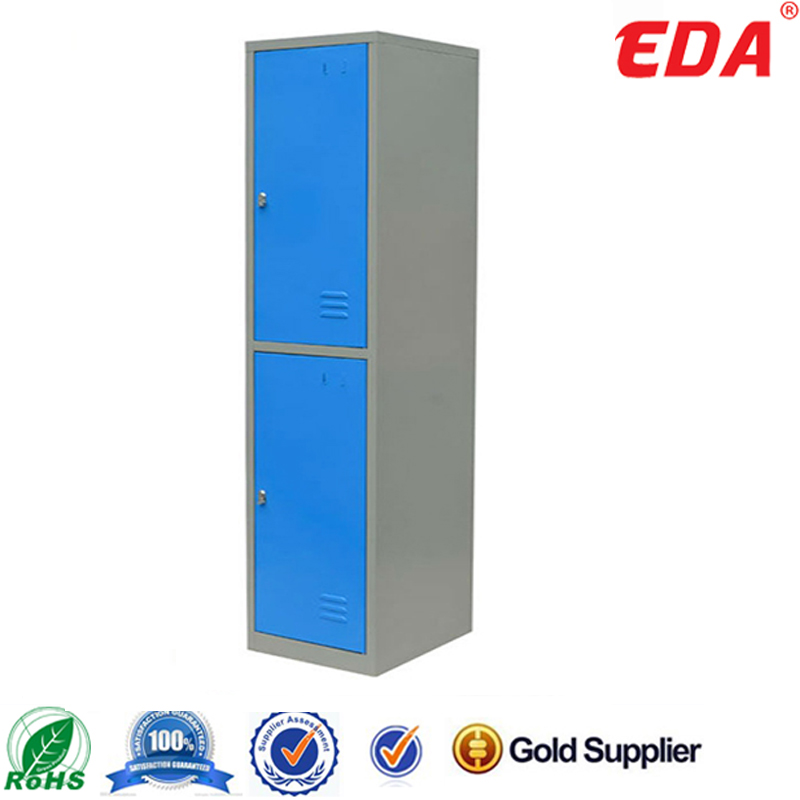 Bedroom 2 Door Metal Locker Compartment Steel Locker