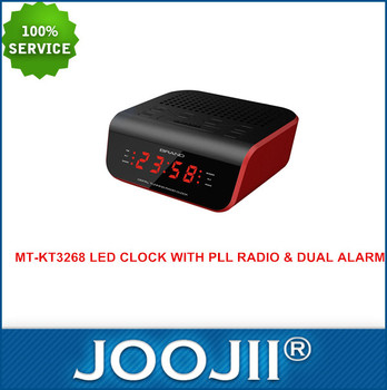 home hotel led alarm clock radio with usb charger charging for mobile phone buy clock radio. Black Bedroom Furniture Sets. Home Design Ideas