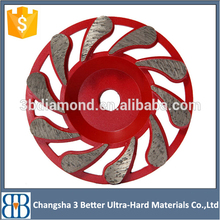 High quality cup-shaped pcd grinding cup wheel for epoxy removal