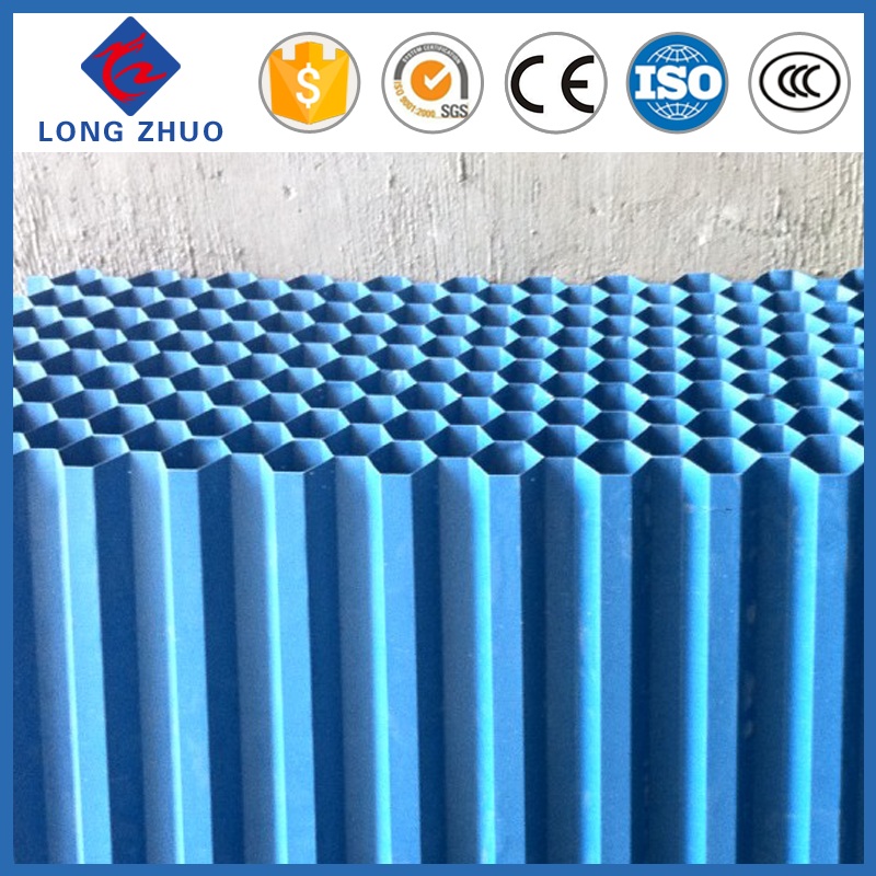 D50mm Hexagonal pvc pipe for water treatment