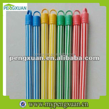 colorful pvc wood stick for cleaning mop