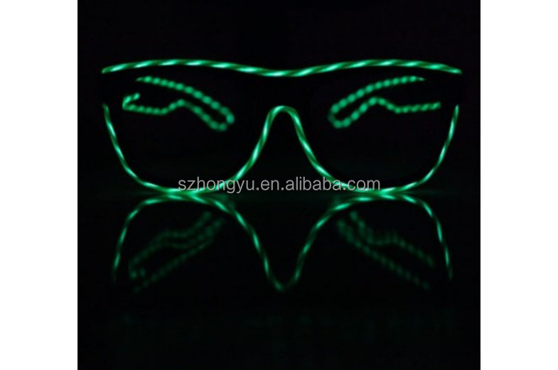 Motion EL Wire Diffraction Glasses