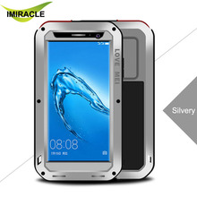 LOVE MEI Powerful Rugged Case Waterproof Aluminum Metal Hybrid Case For Huawei Maimang 5 Protective Case