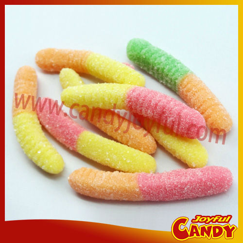 sour gummy worms candy