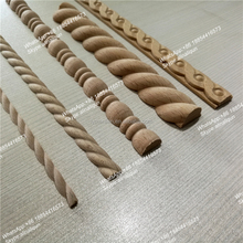 teak wood margin decorative wood columns rope wood moulding