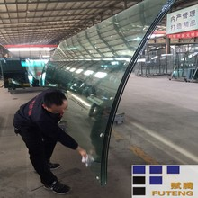 HOT SALE 5mm-12mm bent tempered laminated glass curved tempered glass