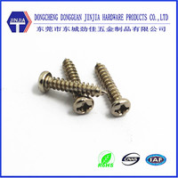 DIN7981 cross recess pan head self tapping m3 carbon screw