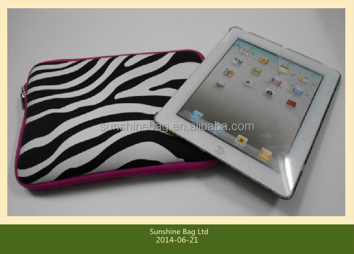 "11""-17"" colorful neoprene laptop case with customized logo"