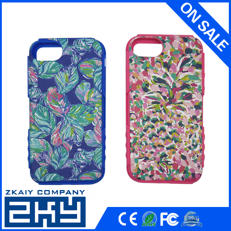 Phone Case For iPhone 7 Unique High Quality Painted Silicone Soft Phone Case Silicone Cover Shell