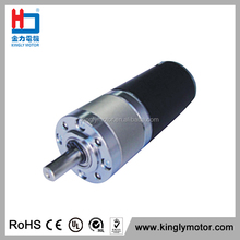 Low-Voltage Dc Brush Motor Geared Motors For Electric Car Motor
