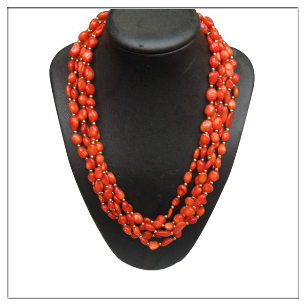 new fashion wholesale original coral beads necklace