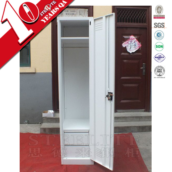 Tall slim portable cube small metal wardrobe closets
