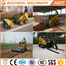 with quick coupling device easy service hot small skid steer loader for sale