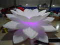 Outdoor giant inflatable flower inflatable lotus for park decoration