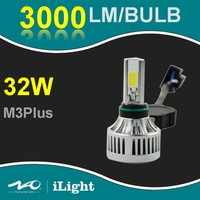 2016 super bright led headlight bulb M3plus h4 white color 6500K 32w 3000LM h4 mortorcycle led headlight