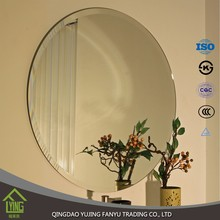 oval shape 1.8/2.7/ 4/ 5mm thick Bathroom Mirror with light for hotel