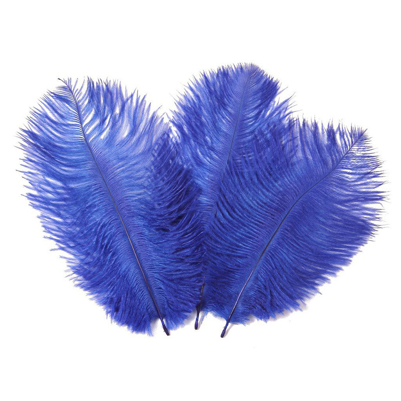 Factory Wholesale Size 35-75cm Cheap Large artificial Ostrich Feathers For Sale Wedding Decoration