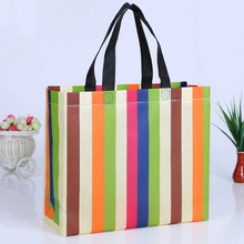 Best Price Laminated Non Woven Shopping Bag For Fruits And Vegetables With Handle Style