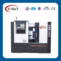 CNC1625-60 degree slant bed CNC heavy cutting machine/ turning lathe
